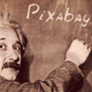 stages de maths lycée, image du professeur Albert Einstein