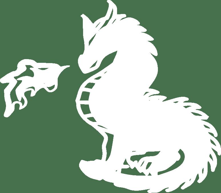 prépa hec ipécom Paris logo dragon blanc