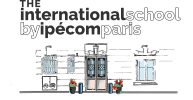 logo international school by ipécom paris- lycée international ipécom paris