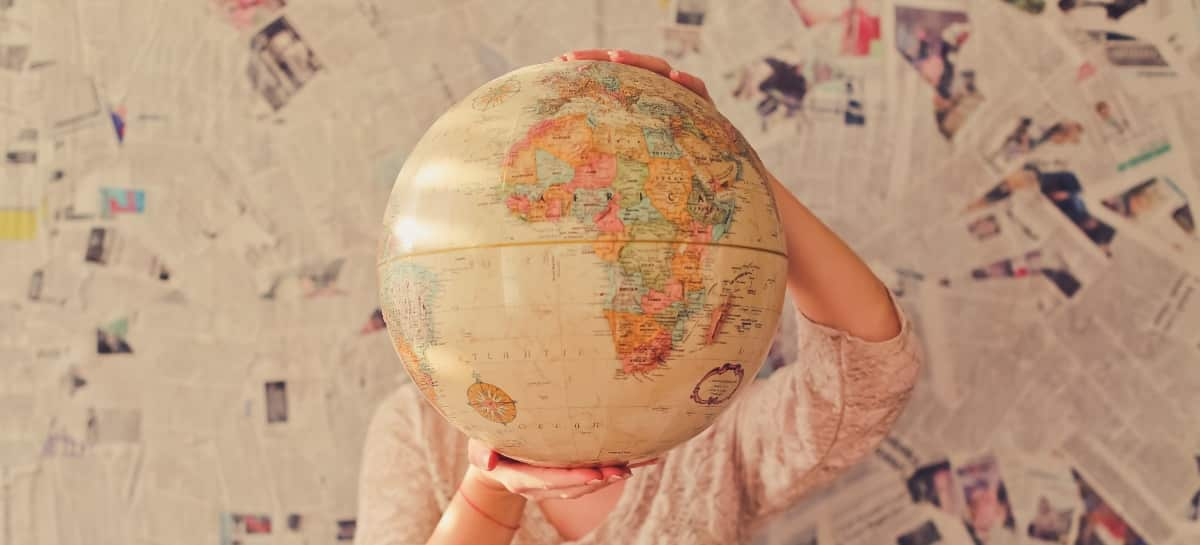 enseignement des langues, globe terrestre