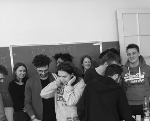élèves prépa ecs ipécom paris