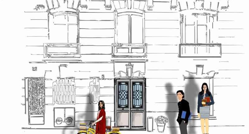 façade Ipécom Paris prépa hec