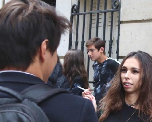 élèves lycée ipécom paris