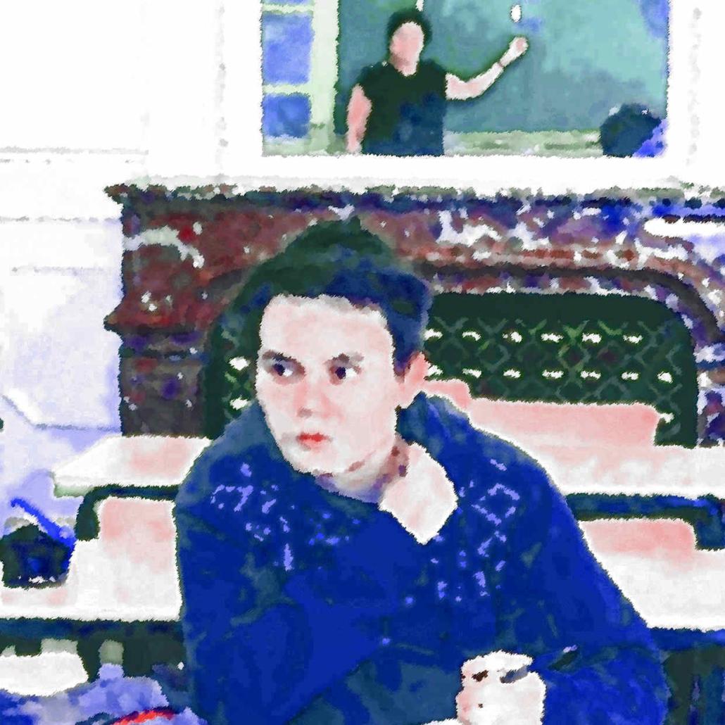 stage Sésame Accès, élève Ipécom Paris, dessin